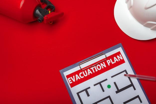 Evakuierungsplan für notfälle