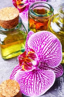 Extraktion von blumen orchidee