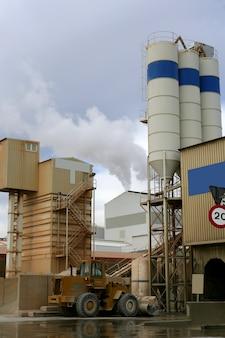 Fabrik in der industriezone
