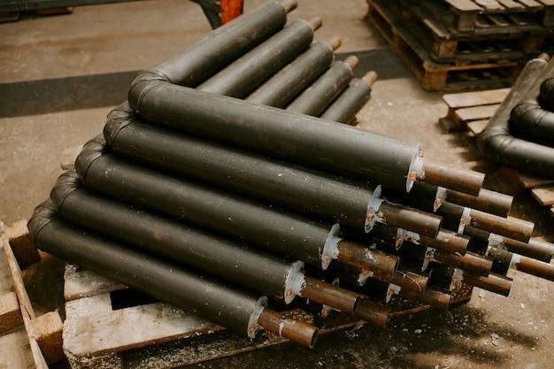 Fabrik zur herstellung von isolierungen für rohre