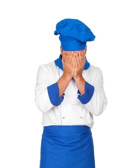 Facepalm chef