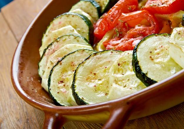Fä±rä±nda kabak dizme.türkische küche