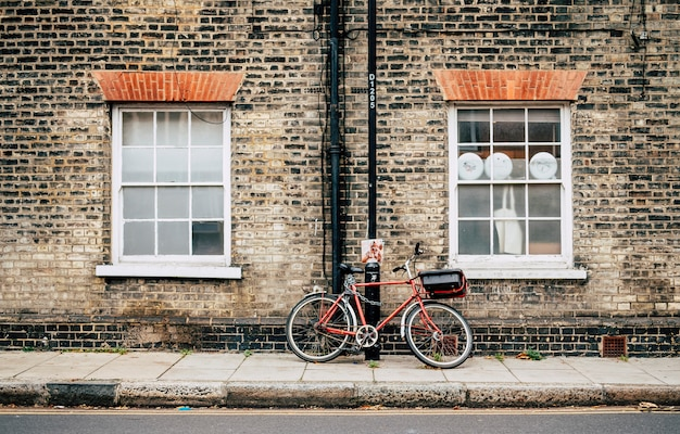 Fahrrad auf der england-straße