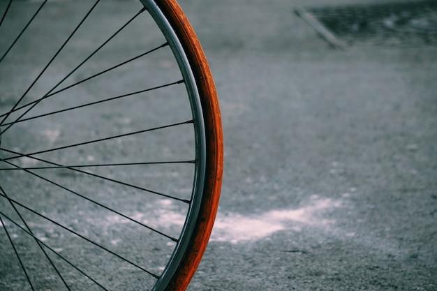 Fahrrad auf der straße