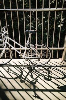 Fahrrad in einer parkbahn