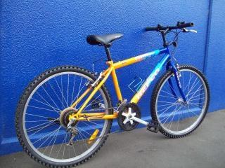 Fahrrad - repco herausforderer, mädchen, mit dem fahrrad