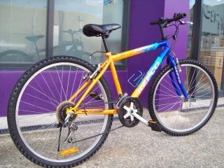 Fahrrad - repco herausforderer, orange