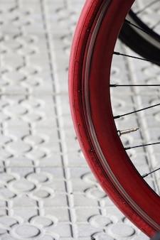 Fahrradtransport auf der straße