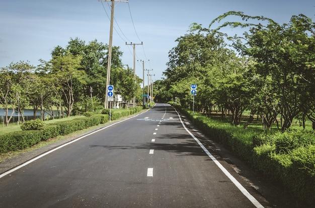 Fahrradweg öffentlicher park