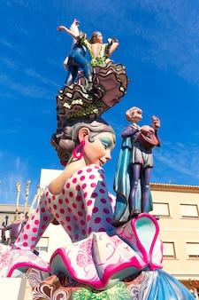 Fallas von valencia in denia populäre festzahlen