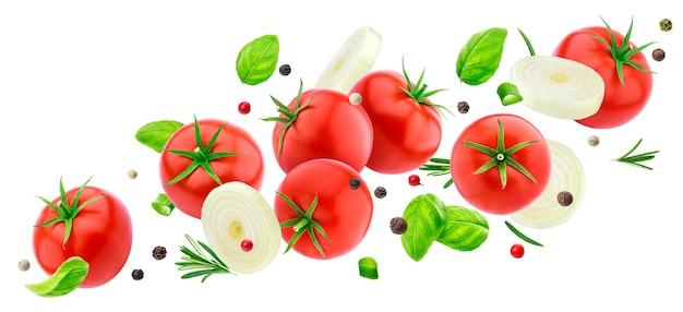 Fallender tomatensalat