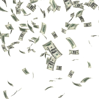 Fallendes dollargeld