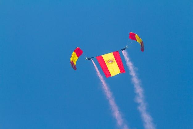 Fallschirmspringer der papea