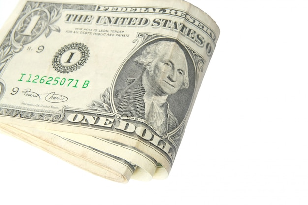Faltbare dollarnoten