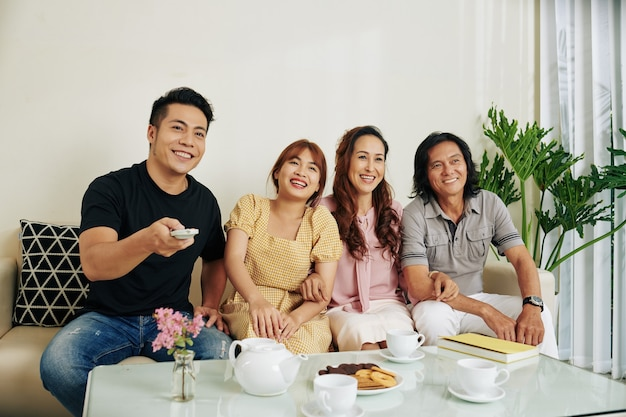 Familie, die comedy-film sieht