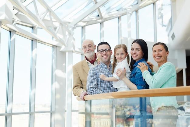 Familie von reisenden