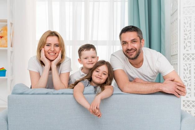 Familie zu hause