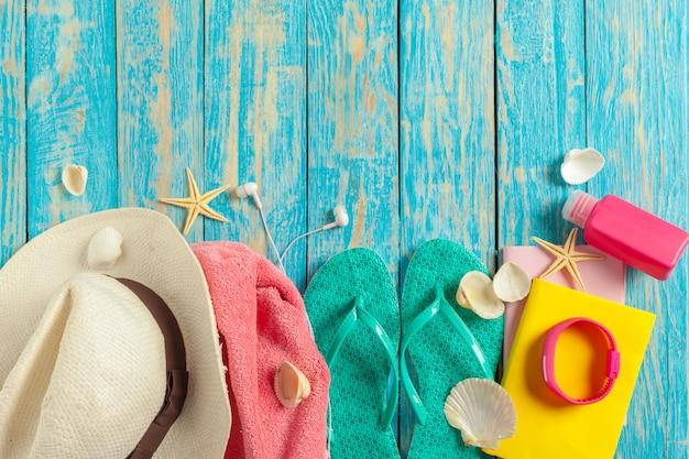 Familien-sommerferienkonzept