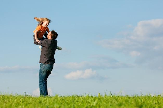 Familienangelegenheiten - vater und tochter