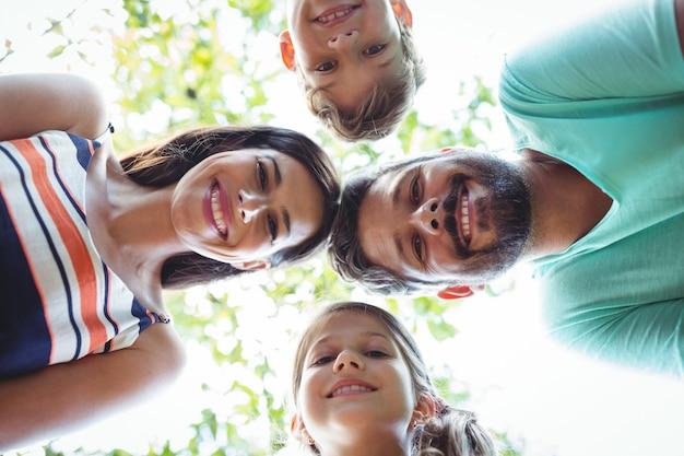 Familienbildendes gedränge