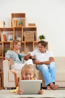 Familienwochenende zu hause