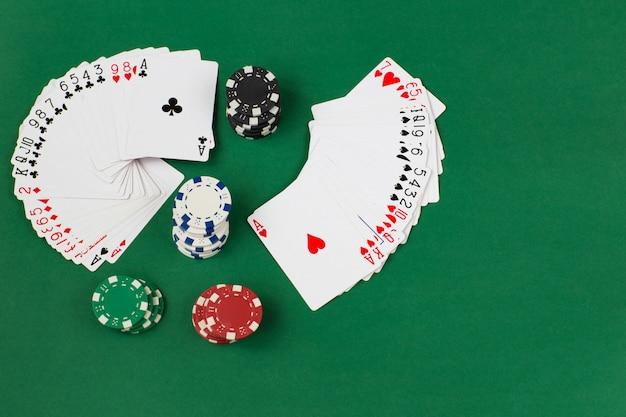 Fan decks und chips spielen