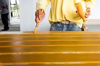 Farbe auf Verkleidungen machen Fiber Cement Board