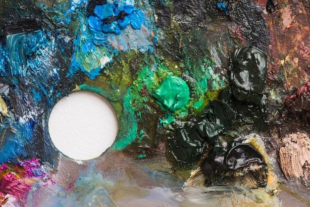 Farbe der professionellen palette