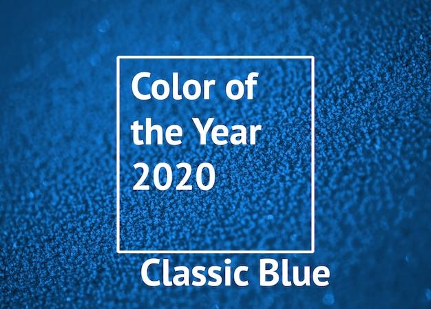 Farbe des jahres 2020 classic blue