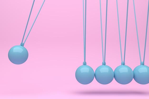 Farbe voller newton ball