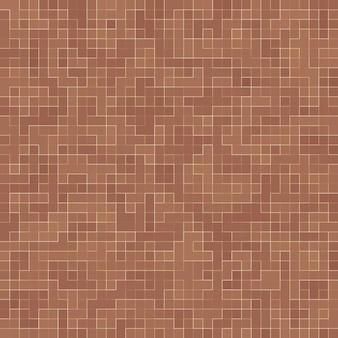 Farbige keramiksteine. abstraktes glattes brown-mosiac-beschaffenheitszusammenfassungs-keramisches mosaik schmückte gebäude. abstraktes nahtloses muster.