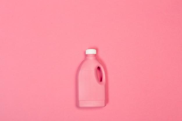 Farbige plastikflasche