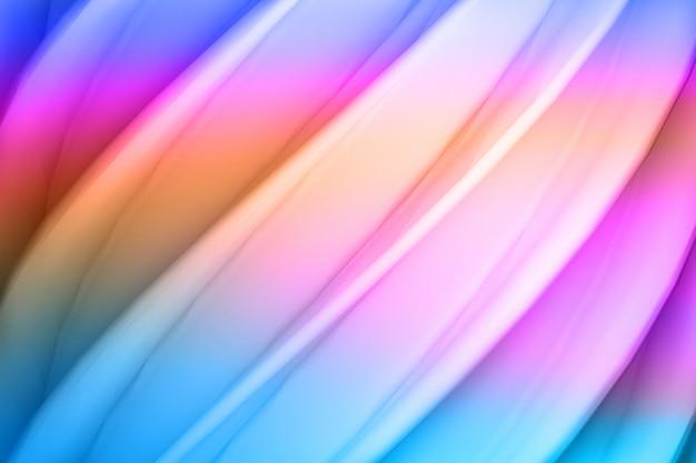 Farbiger klarer gewellter hintergrund mit schraubenoberfläche