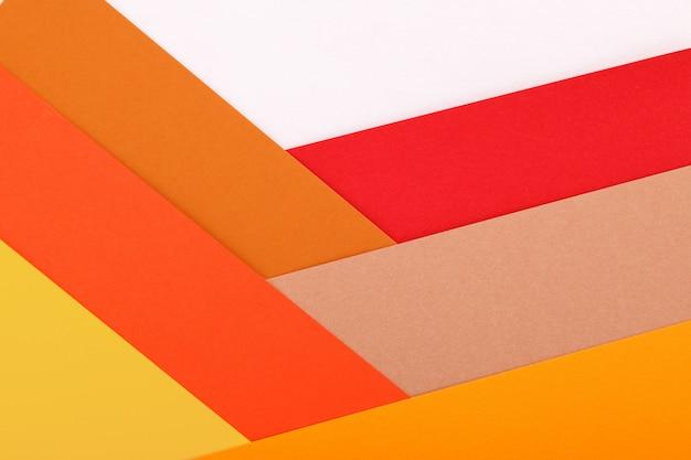 Farbiger papierbeschaffenheits-minimalismushintergrund. geometrische formen und linien
