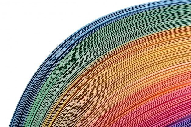 Farbiger papierhintergrund