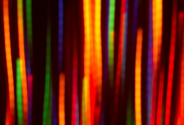 Farbiges licht bewegungsunschärfen
