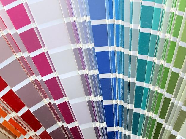 Farbkartentabelle