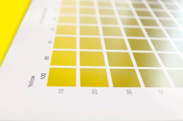Farbpalette für paletten