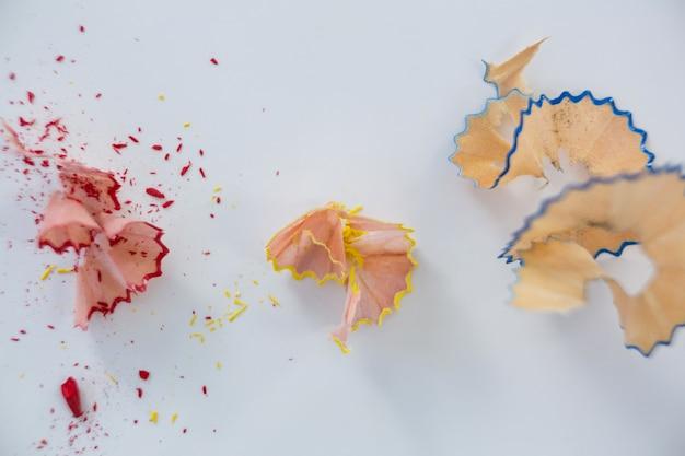 Farbstifte späne