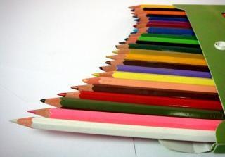 Farbstiften, kunst