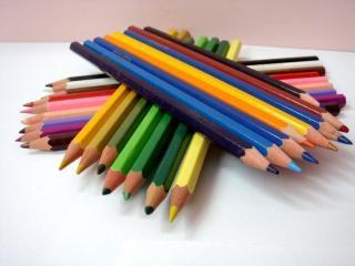 Farbstiften, zeichnung