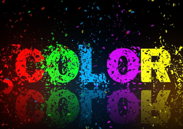 Farbzusammenfassungshintergrundillustrationskunstgestaltungselement