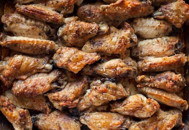 Fastfood gourmet essen pollo cocina