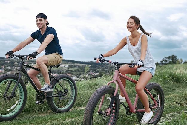 Fatbike im sommer auch fatbike oder fattire bike genannt