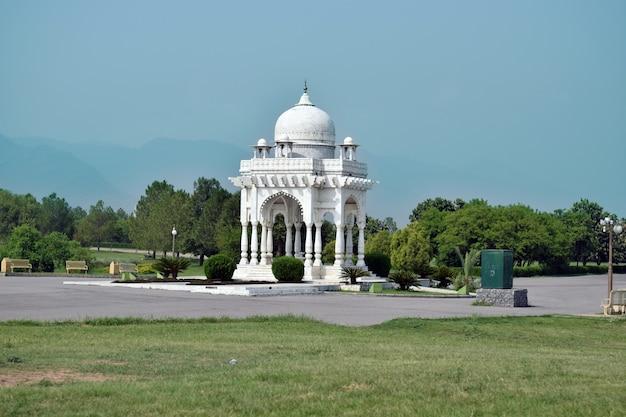 Fatima jinnah park islamabad weißes historisches gebäude