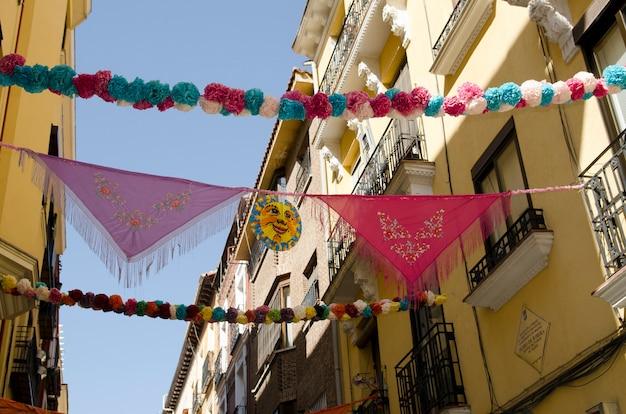 Feier der madrider feiertage