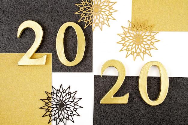 Feierkonzept des neuen jahres 2020