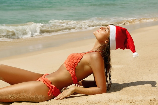 Feiern wir weihnachten am strand