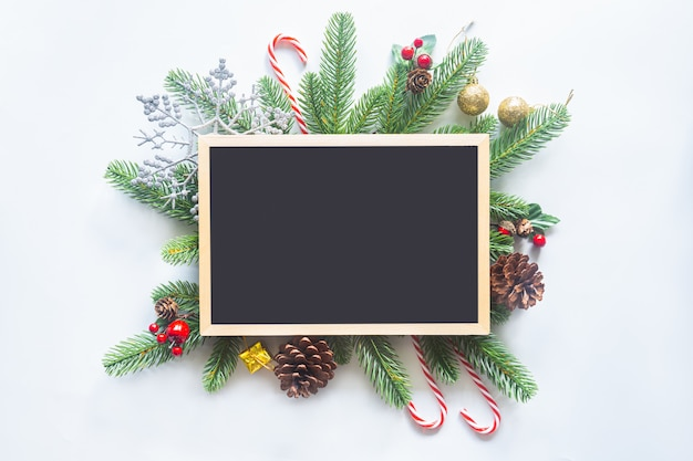 Feiertags-weihnachtskarten-rahmentafel, ebenenlage.