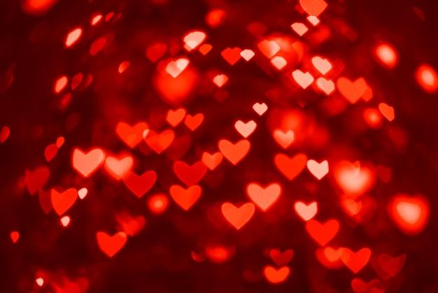 Feiertagshintergrund für valentinstag, st. valentinstag bokeh